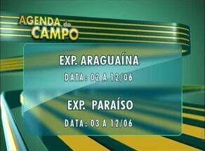 Confira as datas das exposições agropecuárias no Tocantins na Agenda do Campo - Confira as datas das exposições agropecuárias no Tocantins