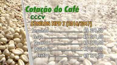 Veja a cotação do café no Espírito Santo nesta semana - Informações são do Centro do Comércio de Vitória.