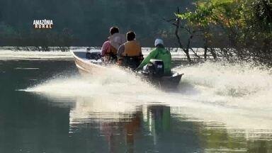 Turismo cresce às margens do rio Aripuanã, no AM - Muitos turistas querendo conhecer as belezas do lugar.