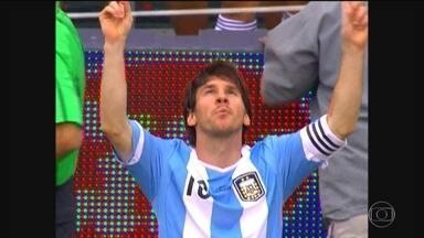 Top 5 Messi na Argentina: confira cinco golaços do craque com a camisa da seleção - Lionel Messi é gênio