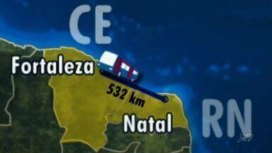 Fortaleza enfrenta desgaste antes de jogo América-RN - Time viaja de ônibus até Natal, local da partida.