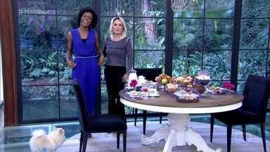 Maria Júlia Coutinho fala sobre o sucesso de seu figurino - Jornalista conta que figurinista se inspirou no estilo de Michelle Obama