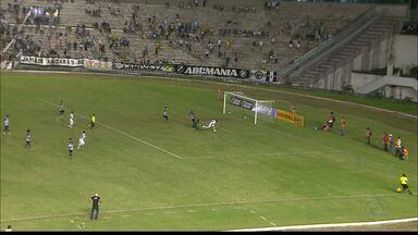 Veja a vitória do Botafogo-PB em cima do ABC que o colocou no G-4 do Grupo A - Clube paraibano chega a sua segunda vitória seguida na competição e entra na zona de classificação.