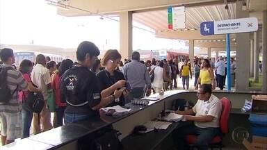 Após quase três anos de atraso, Terminal Joana Bezerra é aberto e agrada passageiros - Obra foi entregue no último domingo (5) e teve reforço no número de linhas de ônibus e fiscais