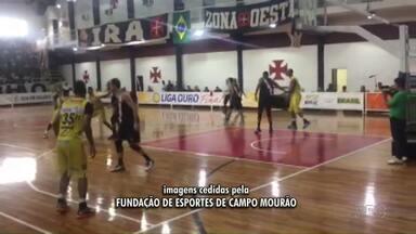 Basquete de Campo Mourão perde terceiro jogo da Liga Ouro - O próximo jogo é amanhã e se o Campo Mourão vencer leva o título