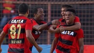 Em jogo emocionante, Sport empata em 4 a 4 com Atlético-MG - Em jogo emocionante, Sport empata em 4 a 4 com Atlético-MG