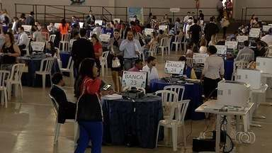 Juizados especiais realizam mutirão em Goiânia - Processos que levariam anos podem ser resolvidos rapidamente durante esta semana no Parque de Exposições, onde funciona a Pecuária.