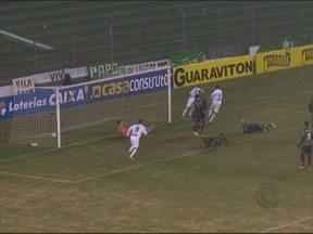 Juventude perde para o Guarani e deixa liderança na Série C - Time sofreu a primeira derrota na competição.