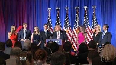 'Super Terça' foi decisiva para os democratas na corrida eleitoral nos EUA - Hillary Clinton venceu em Nova Jersey, no Novo México, em Dakota do Sul e na Califórnia. O senador Bernie levou em Dakota do Norte, Montana e Califórnia.