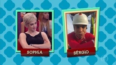 Sophia Abrahão mostra lado ciumento - Sophia diz que faria um escândalo caso Sérgio Malheiros desse carona para uma colega de trabalho com quem Sophia não fosse muito com a cara