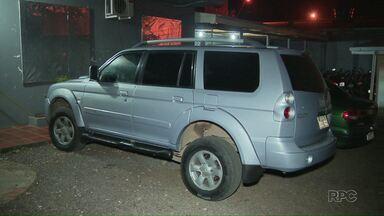 Adolescente que tentava levar veículo roubado para o Paraguai é apreendido - O carro foi roubado de um casal de turistas.