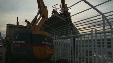 Obras da Ponte da Amizade devem ficar prontas antes do prazo - O prazo final é dia 02 de julho