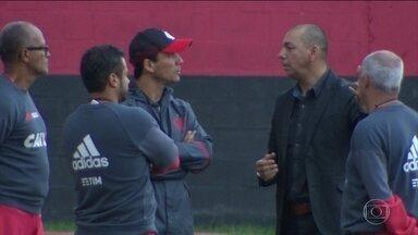 Mozer é apresentado como gerente de futebol do Flamengo - Ex-jogador foi campeão da Libertadores e do Mundial em 1981.