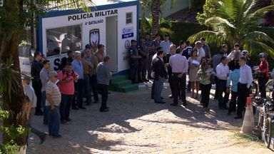Morro do Moreno ganha posto da PM após reclamação de insegurança - Frequentadores reclamavam de falta de policiamento na região. Crimes como assaltos e agressões já foram registrados no local.