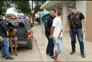 Quatro são presos por três tentativas de homicídios em Montes Claros - Crimes aconteceram na Vila Tiradentes, Jardim Primavera e Village do Lago.