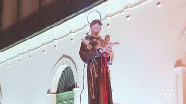Igrejas da região tiveram uma programação especial para o Dia de Santo Antônio - O santo é um dos mais populares da igreja católica.