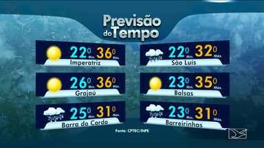 Veja a previsão do tempo para esta terça-feira (14) no Maranhão - Veja a previsão do tempo para esta terça-feira (14) no Maranhão.