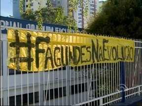 Estudantes de escolas ocupadas mantêm mobilização em Passo Fundo, RS - Após um mês, 10 instituições continuam ocupadas no município