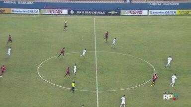 Londrina enfrenta o Oeste, em Barueri, pelo Campeonato Brasileiro da Série B - Tubarão tenta a primeira vitória fora de casa no campeonato.