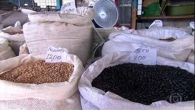 Safra ruim causa grande aumento no preço do feijão - Manteiga e feijão foram os itens da cesta básica que mais sofreram aumentos em 2016