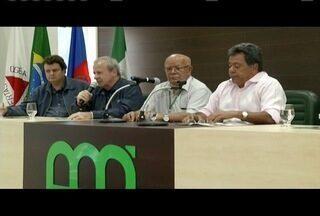Novo presidente da Usiminas se reúne com representantes de diversos setores de Ipatinga - Ele foi eleito no dia 25 de maio.