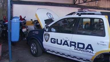 GM denuncia falta de viaturas e efetivos - Segundo a direção da Guarda, algumas viaturas foram para manutenção