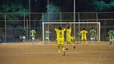 Estrelado de Santa Luzia e Vasco de Esmeraldas vão disputar a final do Torneio Corujão - As duas equipes venceram as partidas, realizadas na noite desta terça-feira. A final será no Vale do Jatobá, Região do Barreiro, em Belo Horizonte, na próxima terça-feira.