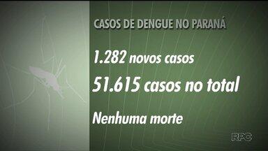 Aumentam os números de casos de dengue no Paraná - Os dados são do novo boletim da Secretaria de Saúde do Paraná!