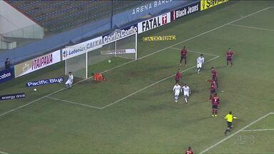 Londrina não consegue vencer fora de casa - O Tubarão foi a São Paulo e ficou no um a um com o Oeste, pela série B.
