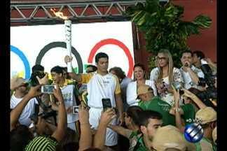Revezamento da tocha olímpica é celebrado com programação em Belém - Belém é a 53ª cidade brasileira a receber a tocha olímpica. O símbolo da olimpíada rio 2016 veio de Imperatriz, no Maranhão, em voo especial. O revezamento da tocha vai cruzar a cidade numa estimativa de sete horas. A celebração final será no Portal da Amazônia.