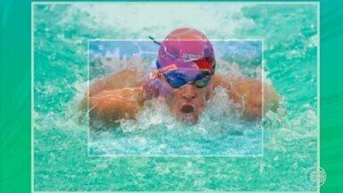 Lauro Filho se inspira em seu pai e se destaca na natação - Lauro Filho se inspira em seu pai e se destaca na natação