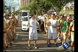Chama olímpica chega na Avenida Doca de Souza Franco - Chama olímpica chega na Avenida Doca de Souza Franco