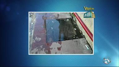 Confira as denúncias do 'Você no ABTV' desta quarta-feira (15) - Problema ocorre na Rua Capitão João Velho, em Caruaru.