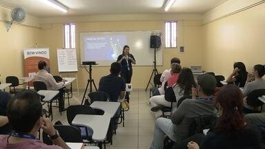 Centro de treinamento de voluntários dos Jogos Olímpicos é inaugurado no DF - Até 30 de julho, 2,3 mil voluntários devem assistir a uma série de palestras.