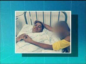 Estudante baleado em Araguaína corre risco de ficar paraplégico - Estudante baleado em Araguaína corre risco de ficar paraplégico