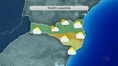 Tempo: ar seco deve influenciar o clima nesta quinta (16) em Santa Catarina - Tempo: ar seco deve influenciar o clima nesta quinta (16) em Santa Catarina
