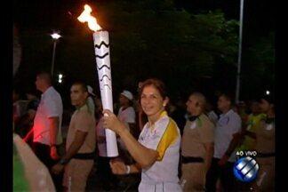 Belém recebe a chama olímpica pela primeira vez - O revezamento da tocha foi realizado por 32 quilômetros, em Belém.