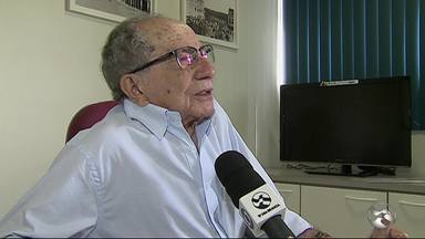 Time do Central completa 97 anos - Luiz Lacerda foi entrevistado e falou sobre o clube.