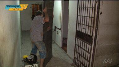 Policiais descobrem plano de fuga de presos da cadeia de Cianorte - Um túnel de 12 metros foi encontrado