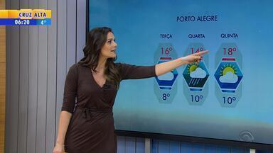 Tempo: Soledade amanhece com sensação térmica de -6,5ºC no RS - Inverno começou na segunda-feira (20), às 19h34.