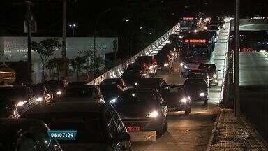 Obra de túnel no Cocó altera trânsito nas ruas do Bairro - Obra deve ser concluída até agosto.
