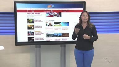 Confira as principais notícias do G1 Alagoas nesta terça-feira - A repórter Carolina Sanches mostra os destaques do portal.