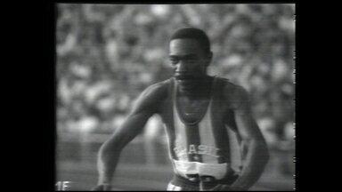 1972 - Munique: bronze no salto triplo (Nelson Prudêncio) - 1972 - Munique: bronze no salto triplo (Nelson Prudêncio)