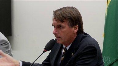 Bolsonaro é réu por incitação ao estupro e injúria - Em 2014, ele ofendeu deputada Maria do Rosário. Supremo aceitou denúncia da PGR e da deputada.
