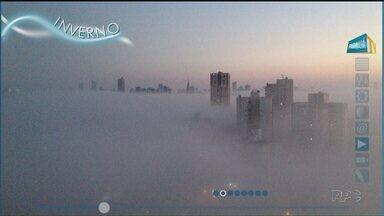 A quinta-feira amanhece com neblina em todo Paraná - À tarde o sol aparece em Curitiba.