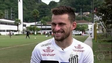 Lucas Lima fala sobre Europa, Seleção e o clássico contra o São Paulo - Pode ser a última vez que o meia vai enfrentar o Tricolor