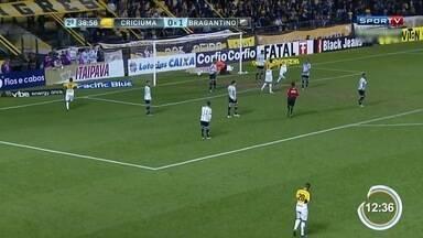 Braga empata com Criciúma pela Série B - Equipes empataram em 1 a 1.