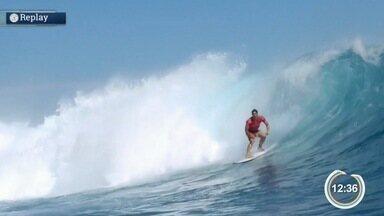 Gabriel Medina visita São Sebastião para acompanhar o Circuito Medina de surfe - Irmã do surfista participa do torneio.