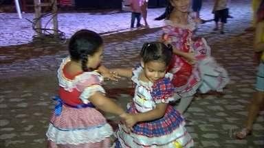 Muita animação nas festas juninas na capital e no interior do estado - Comemoração segue neste fim de semana.