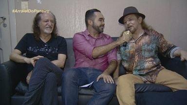 Confira um bate-papo descontraído com os cantores Alceu Valença e Geraldo Azevedo - Artistas fizeram show em Manaus.